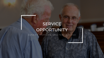 Men's Service Opportunity