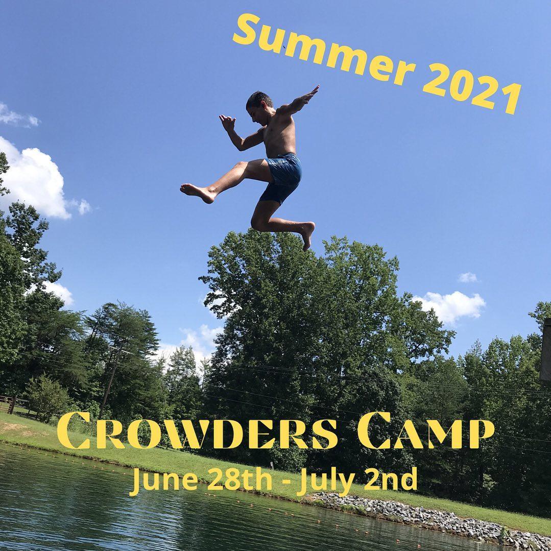 Crowders Ridge Camp registration